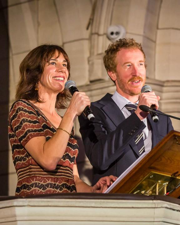 Jackie van Beek and Jesse Griffin